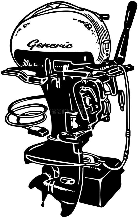Εξωτερική μηχανή 2 απεικόνιση αποθεμάτων