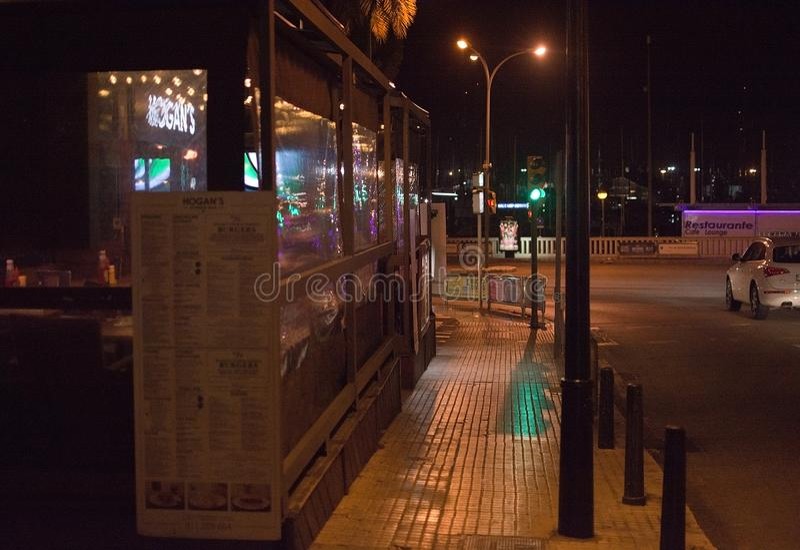 Εξωτερικό εστιατορίων μπαρ Hogans στοκ φωτογραφία με δικαίωμα ελεύθερης χρήσης