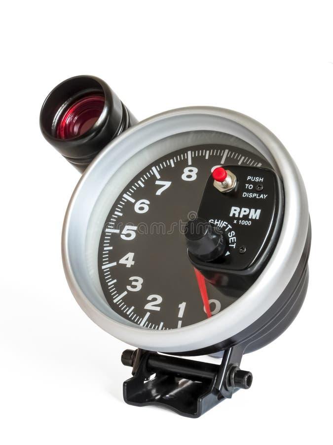 Εξωτερικό ταχύμετρο με τη λάμψη στοκ φωτογραφία με δικαίωμα ελεύθερης χρήσης