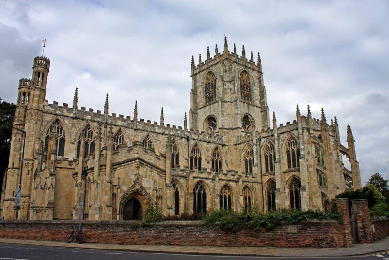 Μοναστηριακός ναός της Beverley στοκ εικόνες με δικαίωμα ελεύθερης χρήσης
