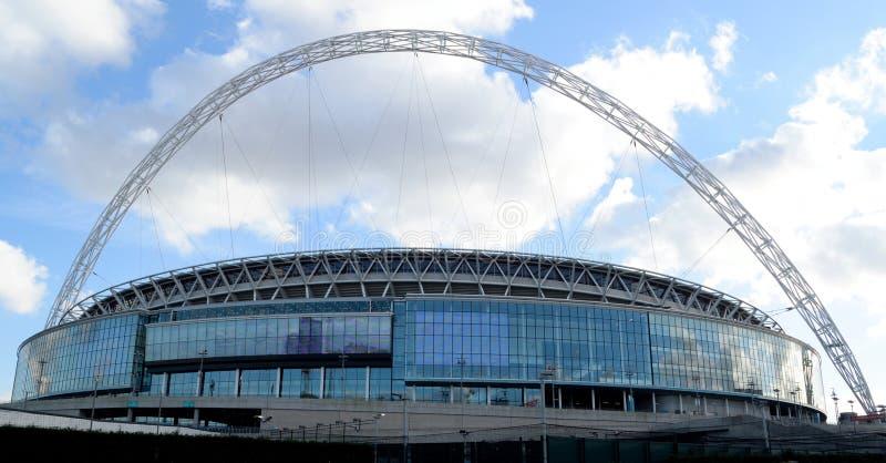 Εξωτερικό του σταδίου Wembley στοκ εικόνες με δικαίωμα ελεύθερης χρήσης