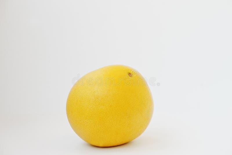 Εξωτικά φρούτων pomelo ή εσπεριδοειδών μέγιστα που απομονώνονται στο άσπρο backgroun στοκ εικόνα με δικαίωμα ελεύθερης χρήσης