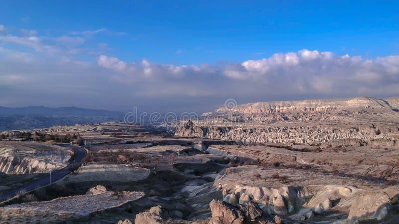 Εξωτικό αρχαίο πέτρινο τοπίο σπηλιών στοκ εικόνες