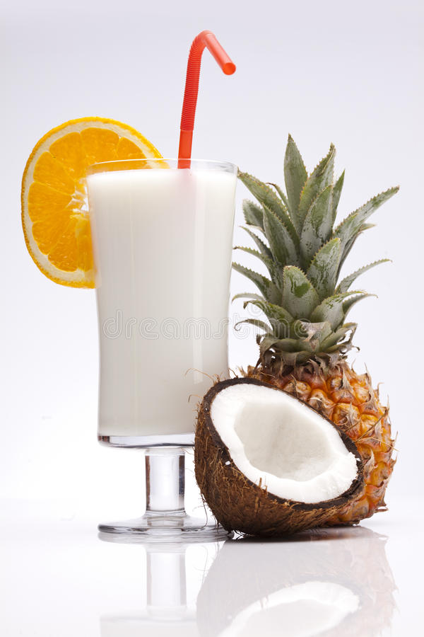 Εξωτικό ποτό Pina Colada στοκ φωτογραφίες με δικαίωμα ελεύθερης χρήσης