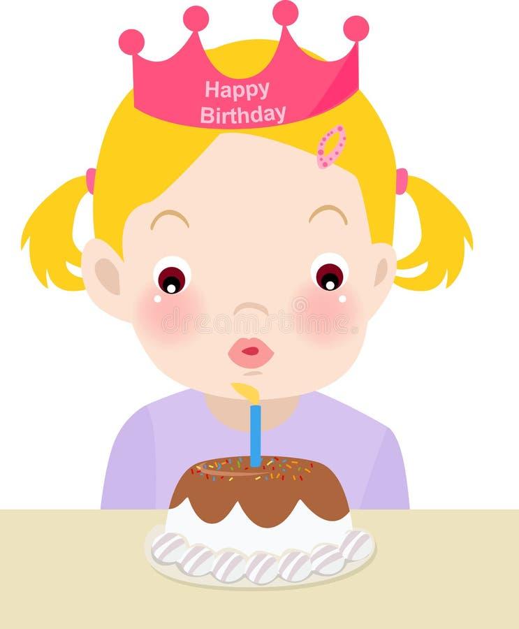 εορτασμός γενεθλίων ελεύθερη απεικόνιση δικαιώματος