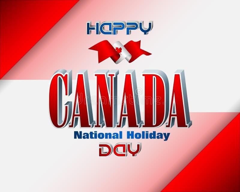 Εορτασμός ημέρας του Καναδά, πρώτος Ιουλίου απεικόνιση αποθεμάτων