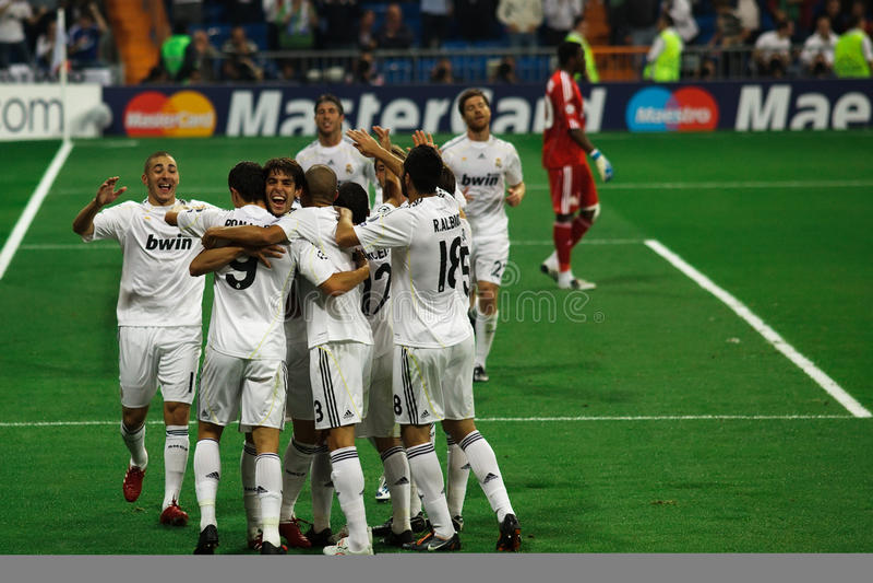εορτασμός Μαδρίτη πραγματ στοκ εικόνες