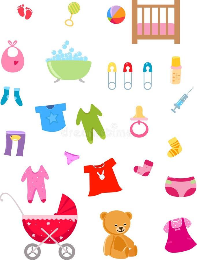 Εορτασμός μωρών απεικόνιση αποθεμάτων