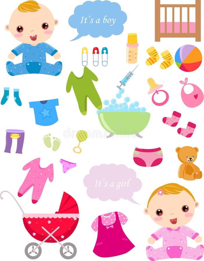 Εορτασμός μωρών ελεύθερη απεικόνιση δικαιώματος