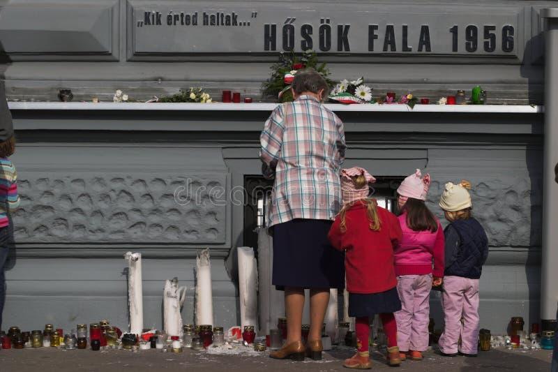 εορτασμός Ουγγαρία το&upsilo στοκ φωτογραφία με δικαίωμα ελεύθερης χρήσης