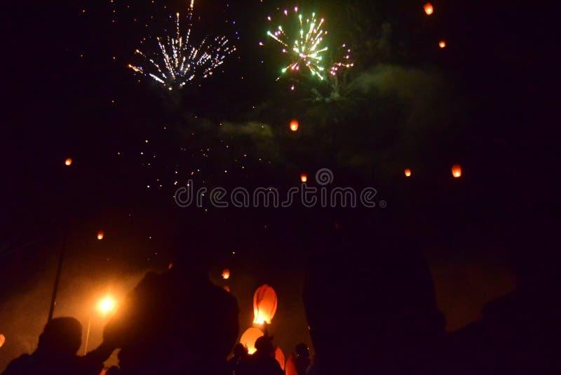 Εορτασμός του νέου έτους στο Σεμαράνγκ στοκ φωτογραφίες
