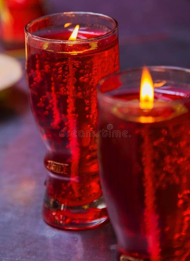 Εορτασμός Χριστουγέννων κεριών, κινεζικό νέο yea διακοσμητικό στοκ φωτογραφία με δικαίωμα ελεύθερης χρήσης