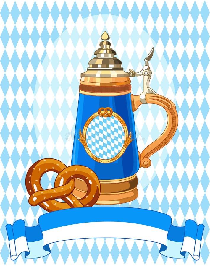 Εορτασμός Oktoberfest απεικόνιση αποθεμάτων