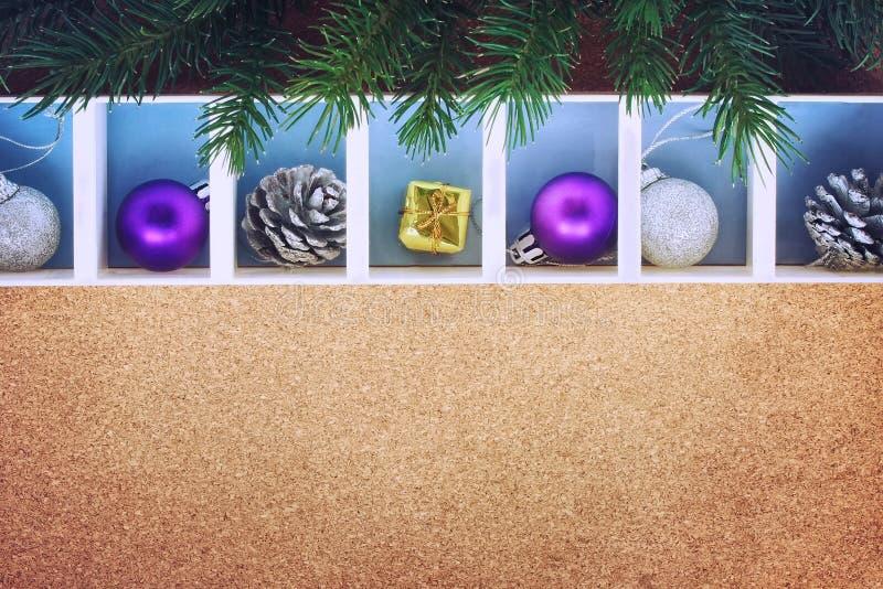 Εορταστική ανασκόπηση Χριστουγέννων στοκ φωτογραφία με δικαίωμα ελεύθερης χρήσης