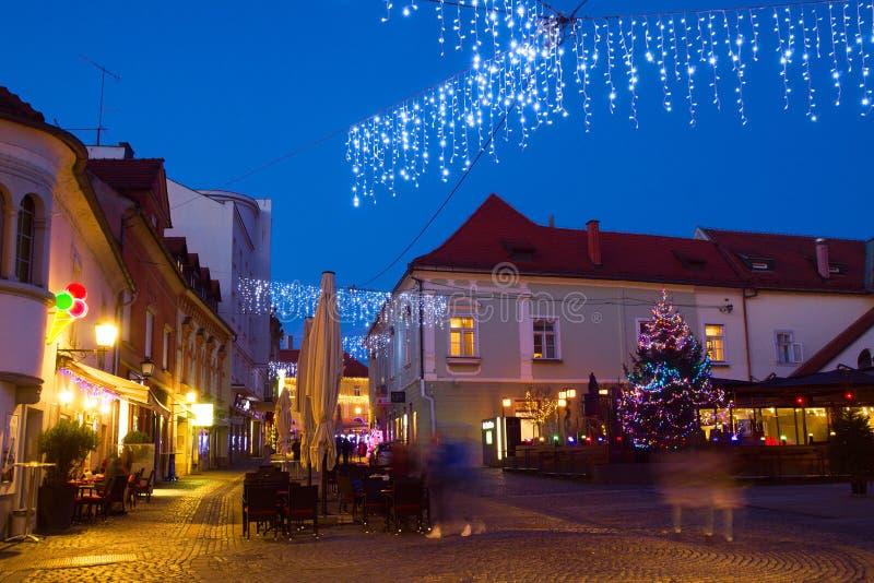 Εορταστική διάκριση, Μάριμπορ, Σλοβενία στοκ φωτογραφίες με δικαίωμα ελεύθερης χρήσης