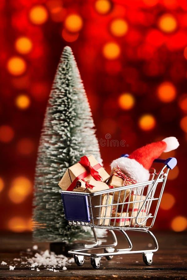 Εορταστική διαφήμιση Χριστουγέννων στοκ εικόνα