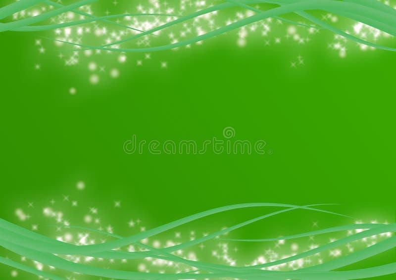 εορταστικός πράσινος αν&alp διανυσματική απεικόνιση
