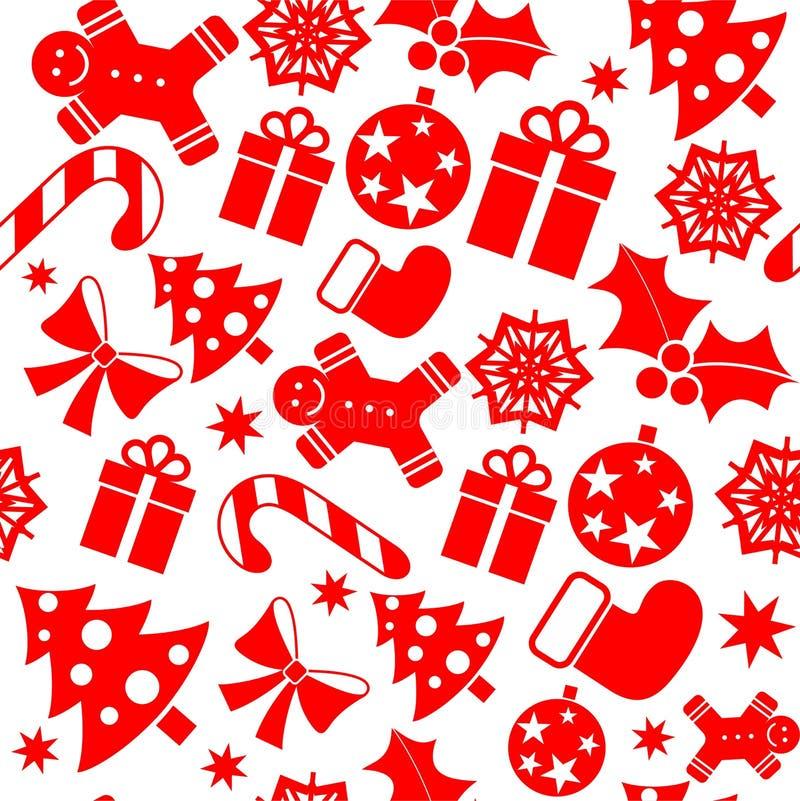 Εορταστικό τυλίγοντας έγγραφο Χριστουγέννων απεικόνιση αποθεμάτων