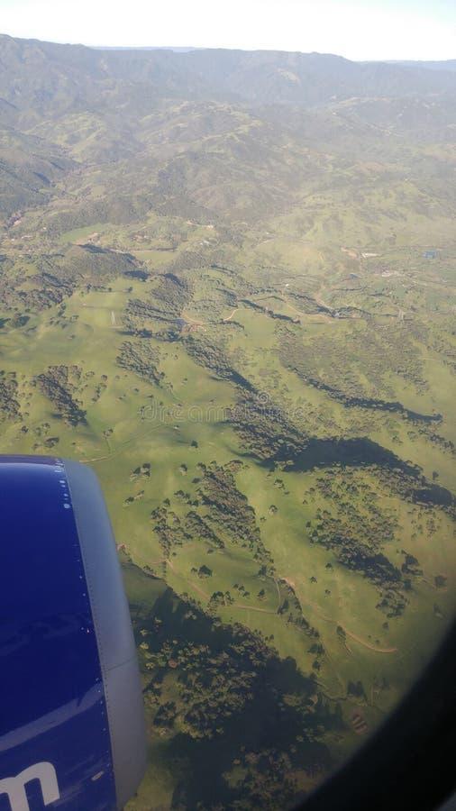 Επάνω από Καλιφόρνια στοκ εικόνα με δικαίωμα ελεύθερης χρήσης