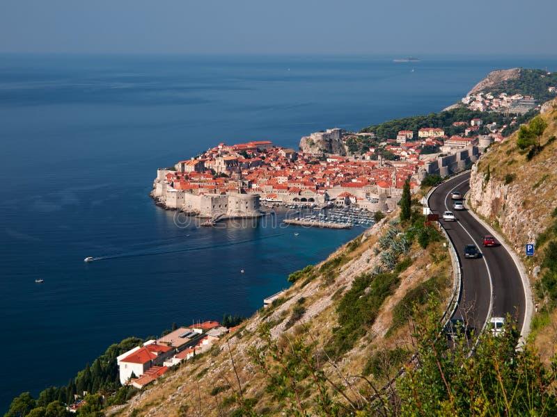 Download επάνω από την πόλη Dubrovnik Στοκ Εικόνες - εικόνα από σπίτι, οχυρό: 17051194