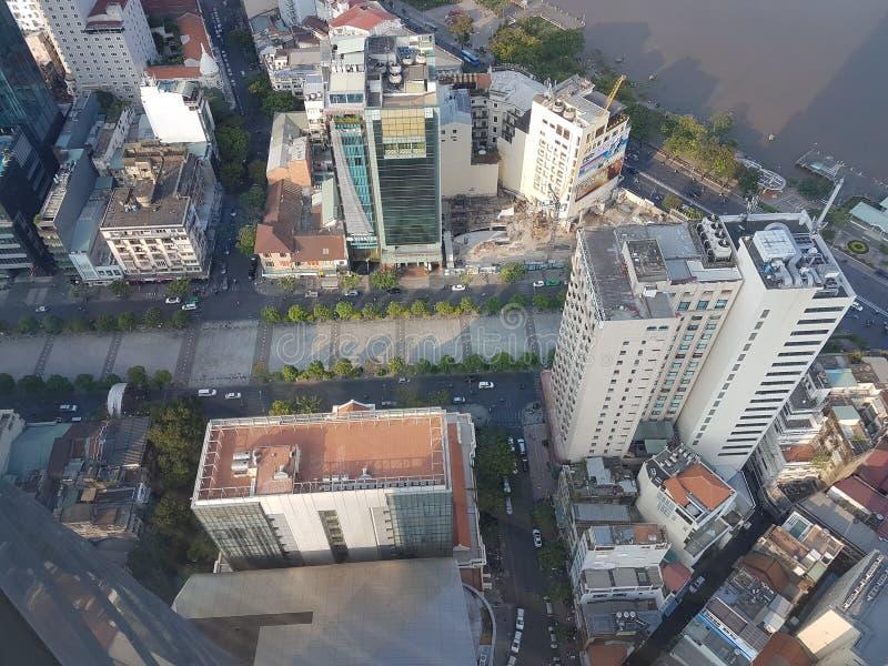 επάνω από την πόλη στοκ εικόνα με δικαίωμα ελεύθερης χρήσης