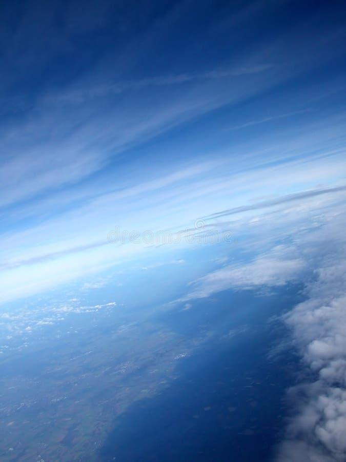 επάνω από τον κόσμο στοκ φωτογραφία με δικαίωμα ελεύθερης χρήσης