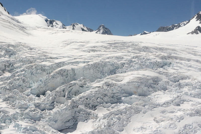 επάνω από τους παγετώνες στοκ φωτογραφίες
