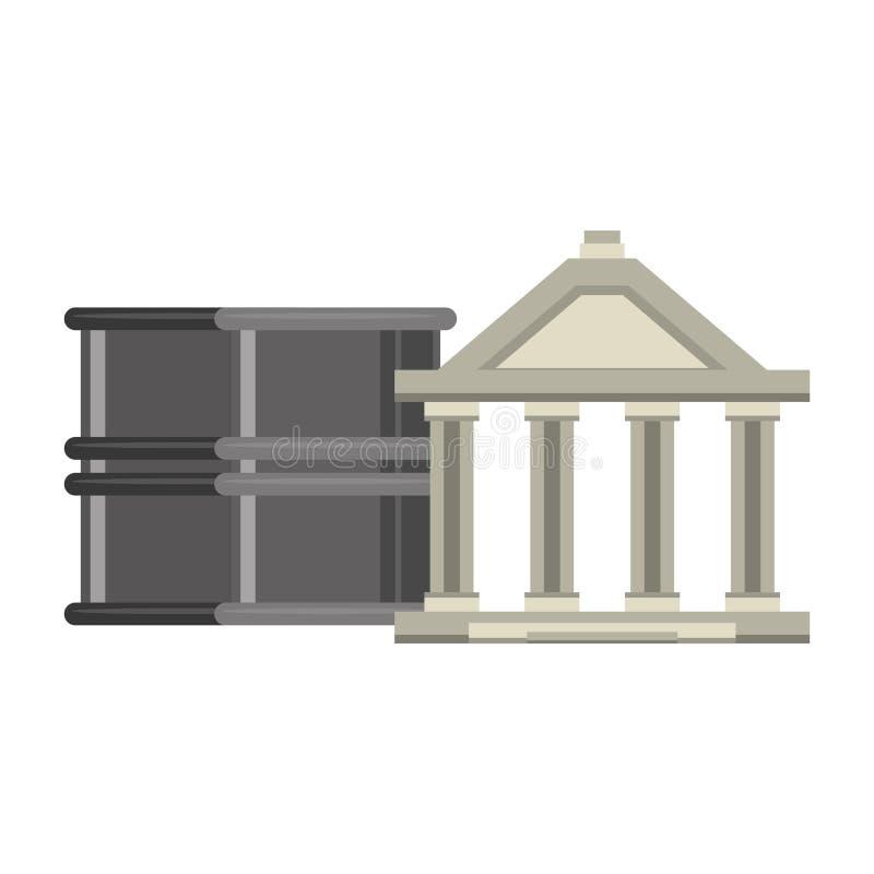 Επένδυση χρηματιστηρίου τράπεζας και χρημάτων ελεύθερη απεικόνιση δικαιώματος
