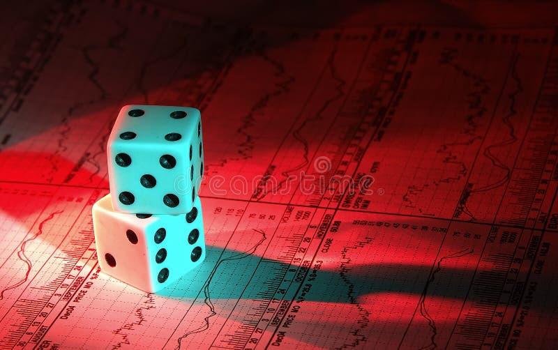 επένδυση 2 τυχερού παιχνι&delt στοκ φωτογραφία με δικαίωμα ελεύθερης χρήσης