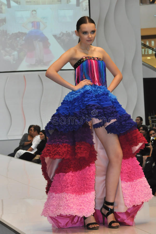 επίδειξη μόδας στοκ φωτογραφία