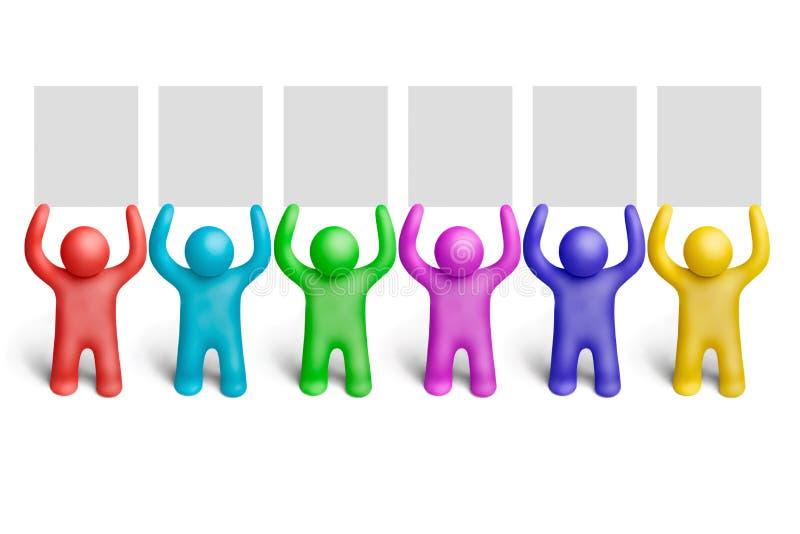 επίδειξη 10 χρώματος διανυσματική απεικόνιση