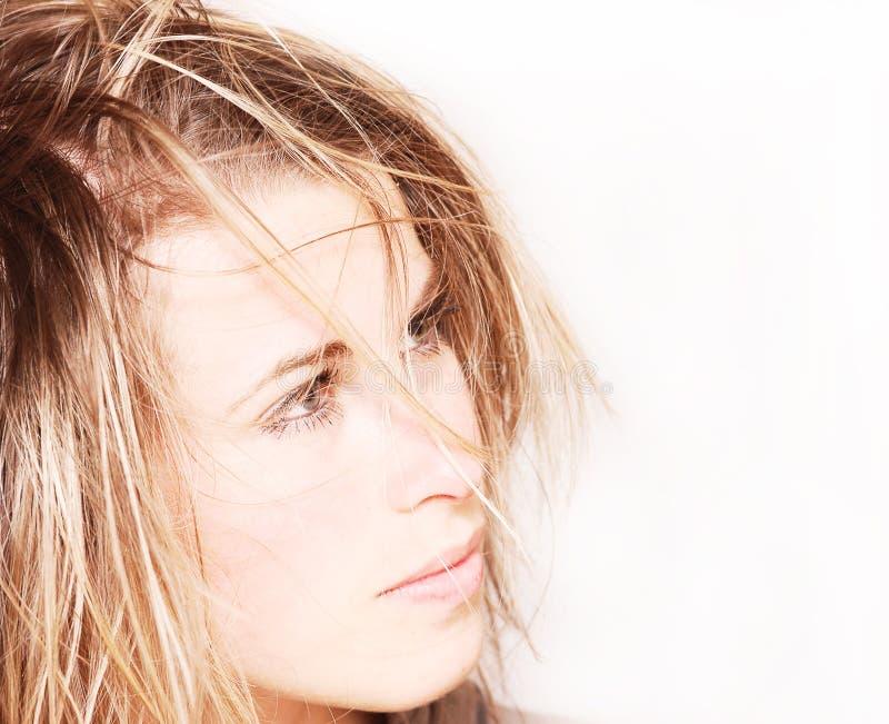 επίδραση hairstyle στοκ φωτογραφία με δικαίωμα ελεύθερης χρήσης
