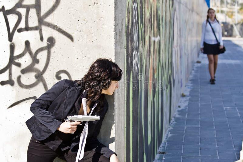 επίθεση έτοιμη στοκ φωτογραφία με δικαίωμα ελεύθερης χρήσης