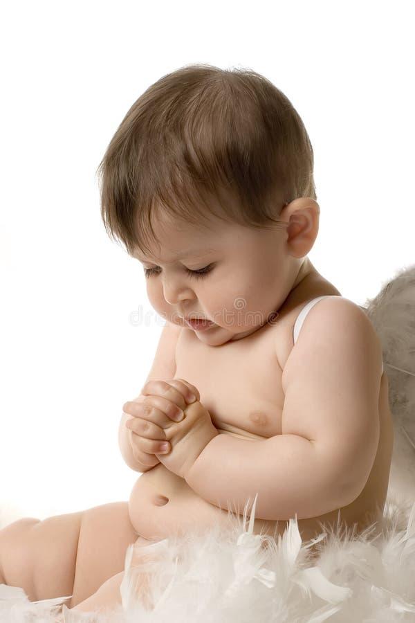 επίκληση μωρών αγγέλου στοκ εικόνα