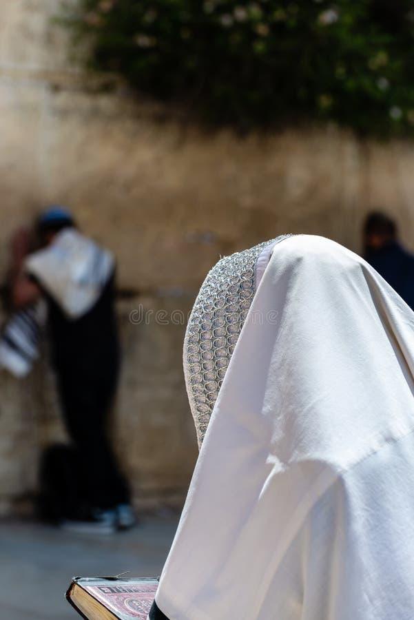 Επίκληση στο δυτικό τοίχο της Ιερουσαλήμ ` s στοκ εικόνες