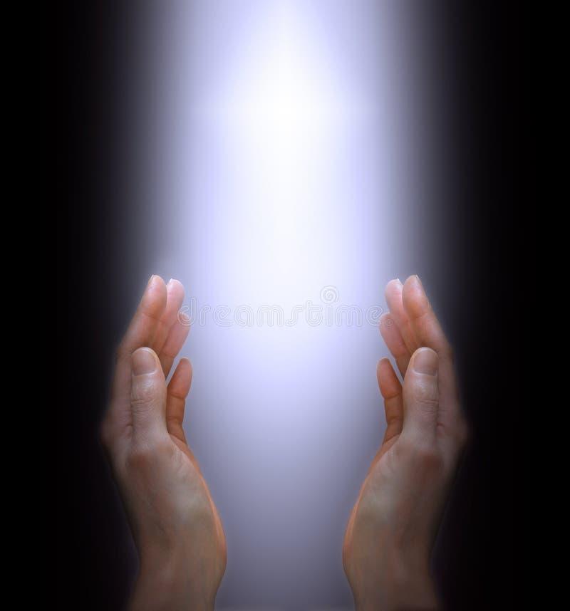 Επίκληση στο θείο πνεύμα στοκ εικόνα
