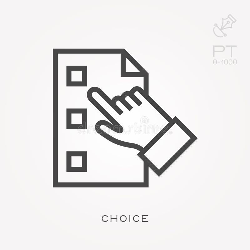Επίπεδα διανυσματικά εικονίδια με την επιλογή ελεύθερη απεικόνιση δικαιώματος