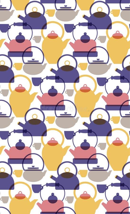 Επίπεδη απεικόνιση σχεδίων Kichen απεικόνιση αποθεμάτων