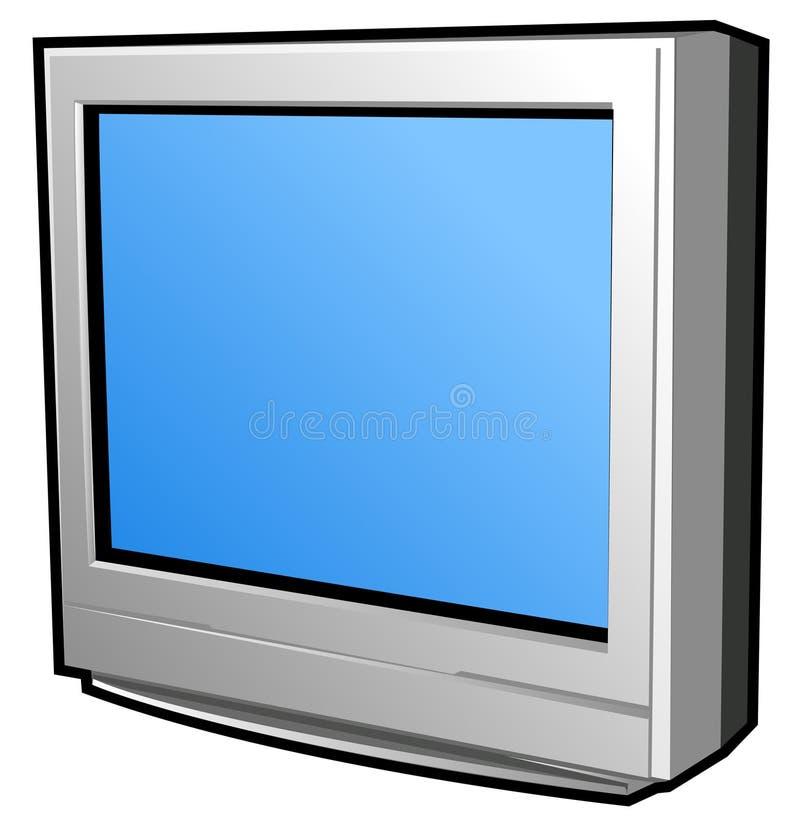 επίπεδη τηλεόραση οθόνης απεικόνιση αποθεμάτων