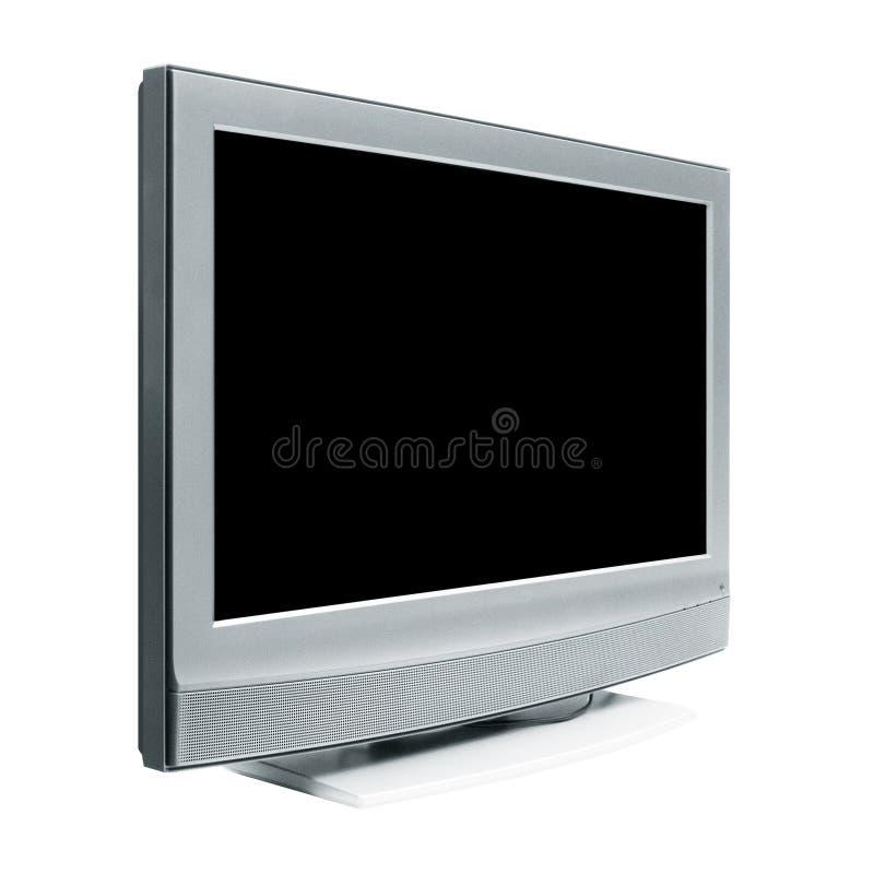 επίπεδη TV στοκ εικόνα με δικαίωμα ελεύθερης χρήσης
