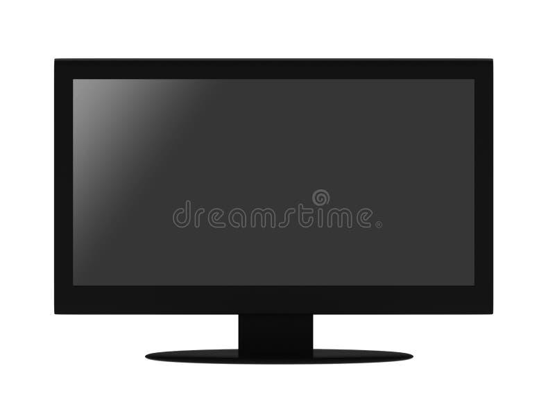 Επίπεδη TV LCD ελεύθερη απεικόνιση δικαιώματος