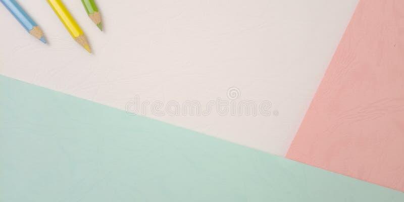 Επίπεδος βάλτε, άσπρο κενό πρότυπο φωτογραφιών για το σχέδιο στοιχείων υποβάθρου για το μήνυμα, απόσπασμα, τοποθέτηση κειμένων πλ στοκ εικόνα