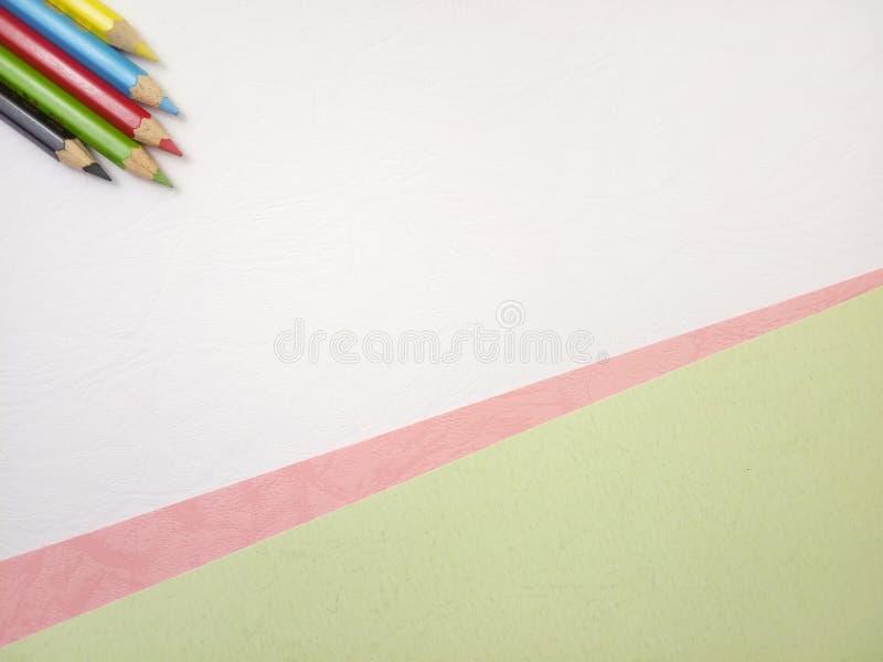 Επίπεδος βάλτε, άσπρο κενό πρότυπο φωτογραφιών για το σχέδιο στοιχείων υποβάθρου για το μήνυμα, απόσπασμα, τοποθέτηση κειμένων πλ στοκ φωτογραφία