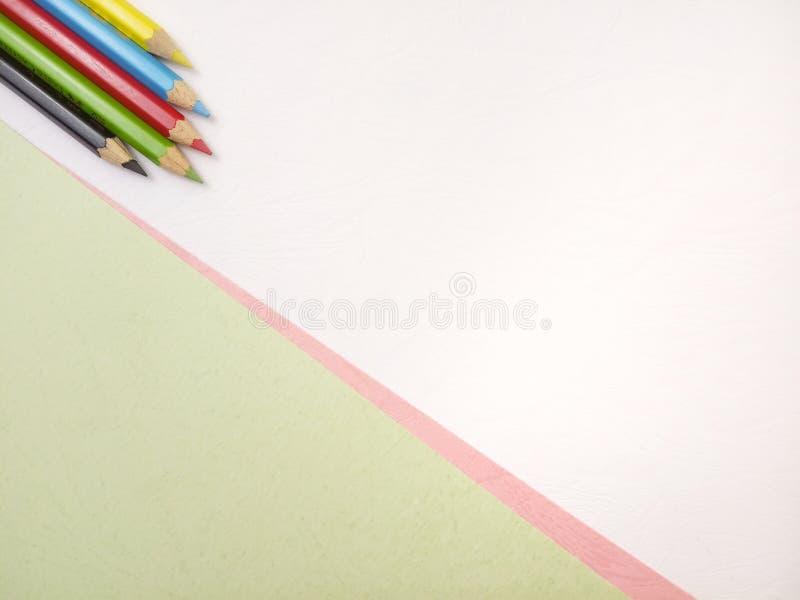Επίπεδος βάλτε, άσπρο κενό πρότυπο φωτογραφιών για το σχέδιο στοιχείων υποβάθρου για το μήνυμα, απόσπασμα, τοποθέτηση κειμένων πλ στοκ εικόνα με δικαίωμα ελεύθερης χρήσης