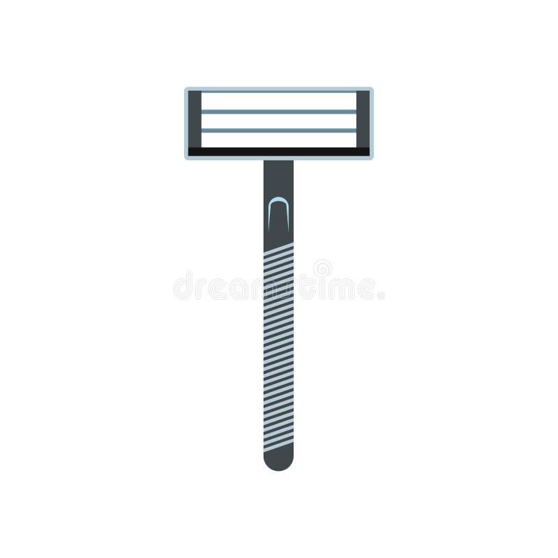 Επίπεδο εικονίδιο ξυραφιών διανυσματική απεικόνιση