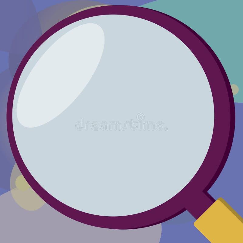 Επίπεδο κενό πρότυπο επιχειρησιακής διανυσματικό απεικόνισης σχεδίου για το σχεδιάγραμμα για στενό επάνω αποδείξεων αφισών προώθη διανυσματική απεικόνιση