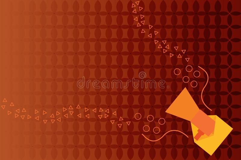 Επίπεδο σχεδίου επιχειρησιακής διανυσματικό απεικόνισης κείμενο αντιγράφων έννοιας κενό για ESP τη χλεύη διαφημιστικού υλικού εμβ διανυσματική απεικόνιση