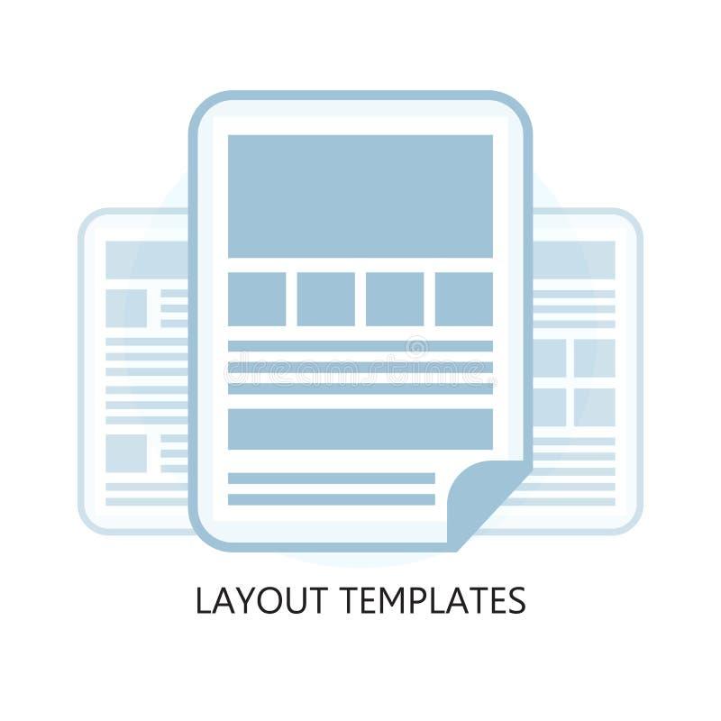 Επίπεδο εικονίδιο προτύπων σχεδιαγράμματος σχεδίου ελεύθερη απεικόνιση δικαιώματος