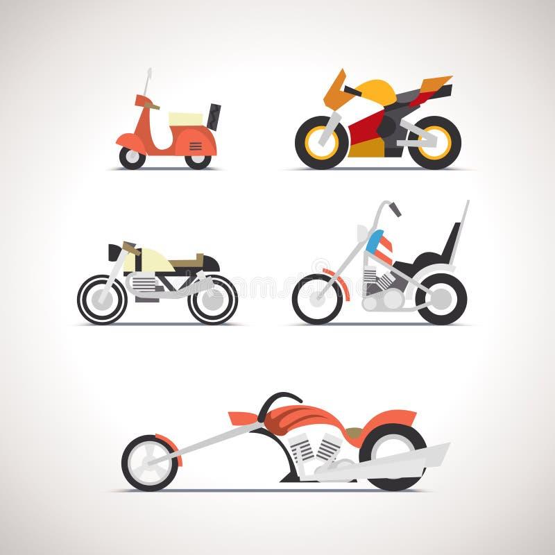 Επίπεδο σύνολο 1 εικονιδίων αυτοκινήτων διανυσματική απεικόνιση