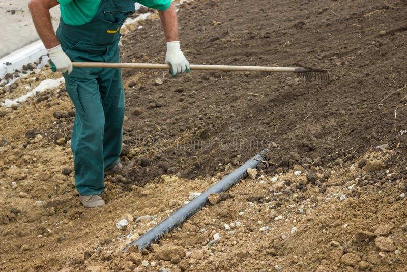 Επίπεδο το χώμα στοκ εικόνα με δικαίωμα ελεύθερης χρήσης